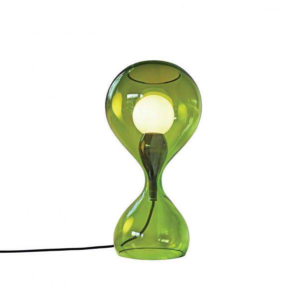 Blubb grønn Bordlampe