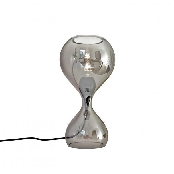 Blubb krom Bordlampe