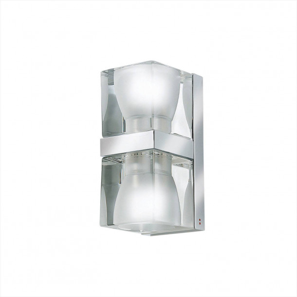 Ice Cube Dobbel Vegglampe
