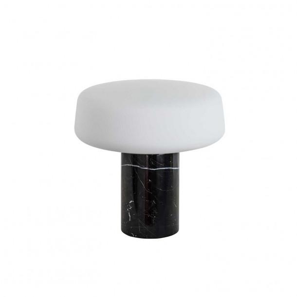 Solid Light Small - Nero Marquina marmor Bordlampe